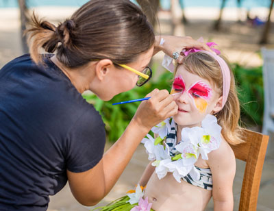 Face painting kids parties northern beaches face painter for Face painting for parties