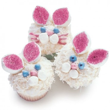 Easter Bunny Cup Cake Kids Recipe